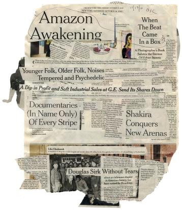 "(Amazon Awakening) NYT 10-16-10 - BSC 10-17-10  13 3-4X16""  BACK"