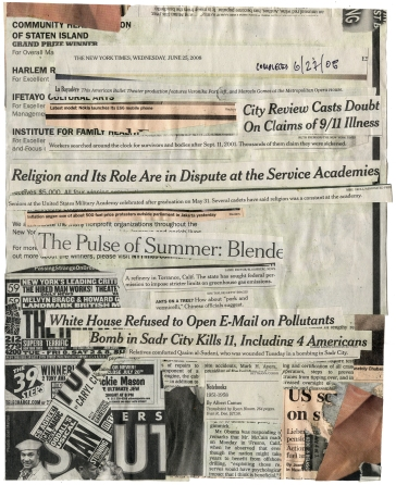 (Religion and Its Role Are In Dispute)  NYT 6-25-08 - BSC 6-27-08  9 3-8x11 3-4 Back