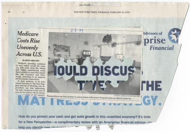 'TRADING FILET MIGNON FOR CHICKEN POT PIE' NYT 2-26-09 - BSC 3-3-09back.jpg